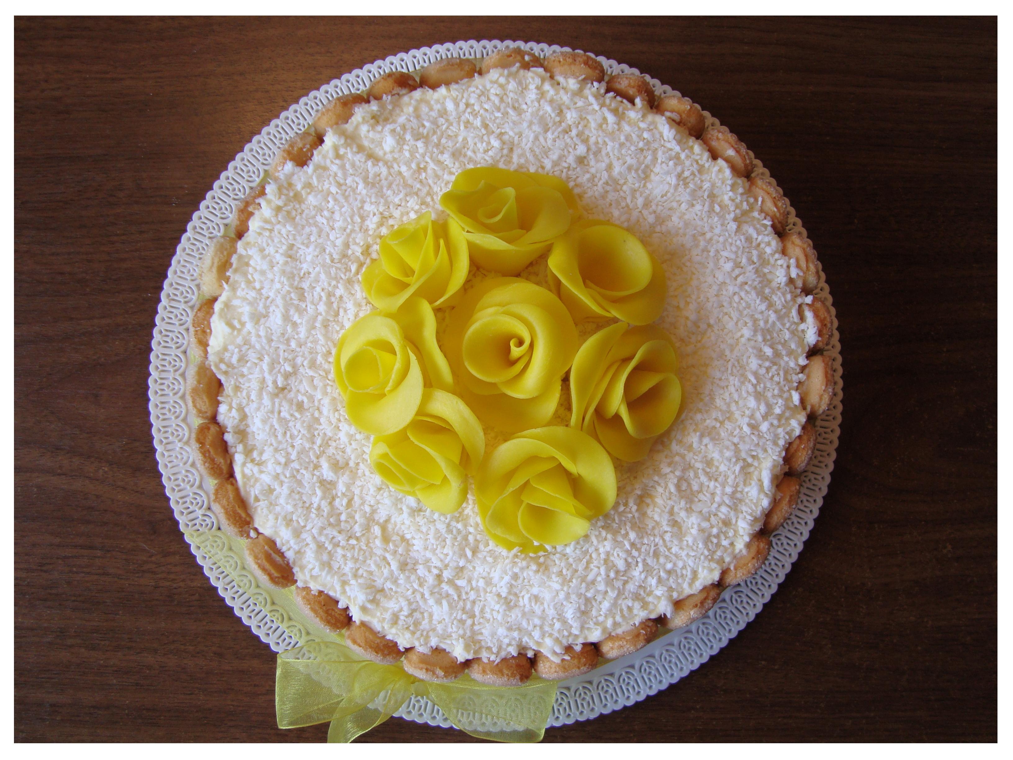 Tortas Raffaello (2)