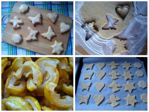 Svarainių sausainiukai su saldžiarūgščiu glajumi